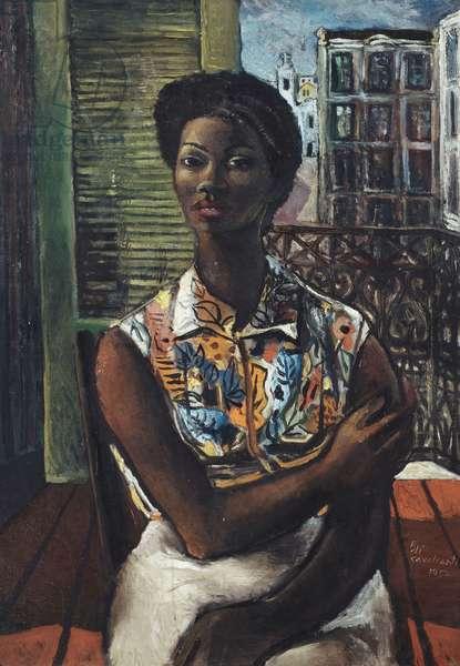 Mulatta, 1952 (oil on canvas)