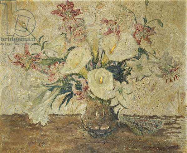 Still Life with Lilies; Nature Morte aux Lis, 1915 (oil on canvas)