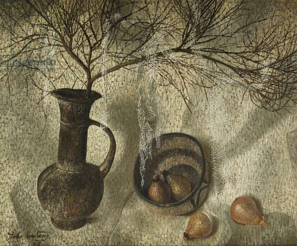 Composition with Classical Ewer, 1955 (oil on canvas)
