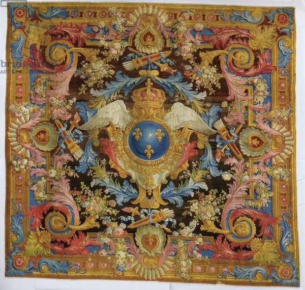 Louis XV savonnerie carpet, 1740-50 (textile)