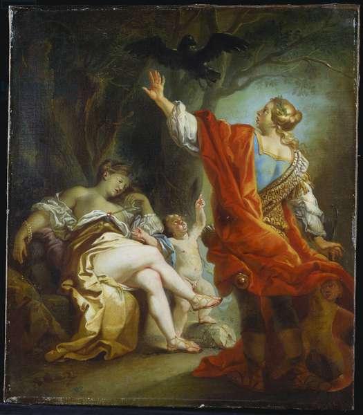 Apollo Slaying Coronis, 1759 (oil on canvas)