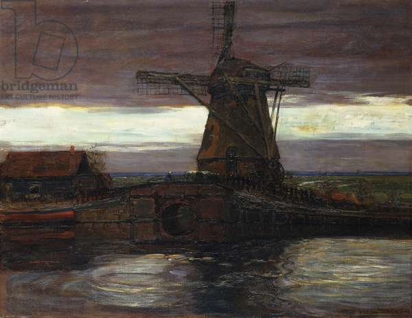 The Mill; Le Moulin, 1905-06 (oil on canvas)