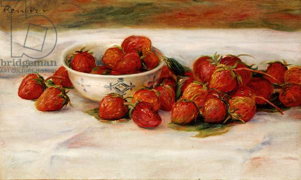 Strawberries (oil on canvas)