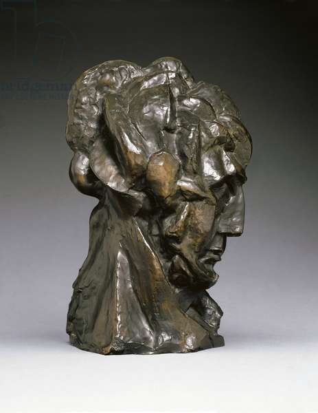 Head of a Woman, c.1909 (bronze)