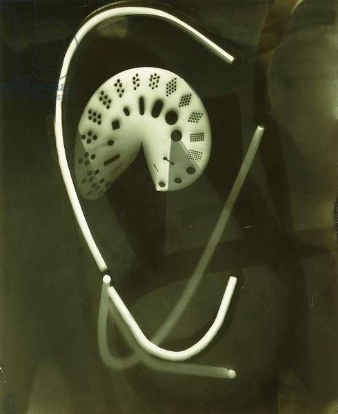 Photogram, 1939 (gelatin silver print)
