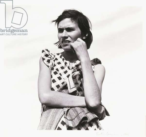 Migrant Worker, 1938 and 1940 (gelatin silver print)
