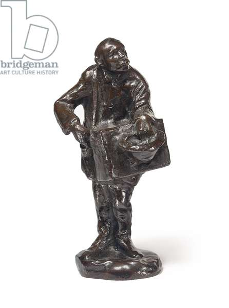 Organ Grinder, 1911 (bronze with brown patina)