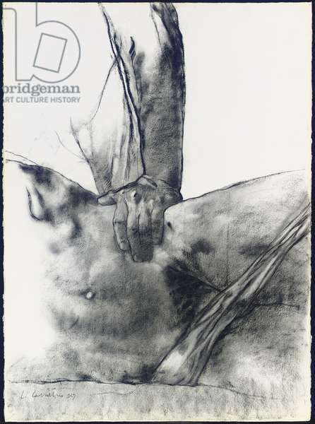 Untitled, c.1978 (charcoal on paper)