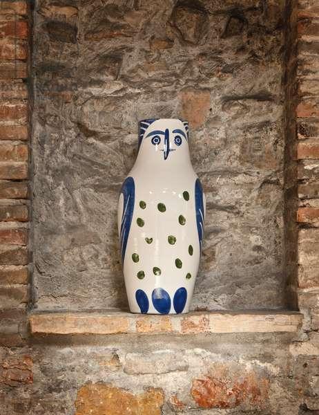 Large Owl, 1951 (glazed ceramic)