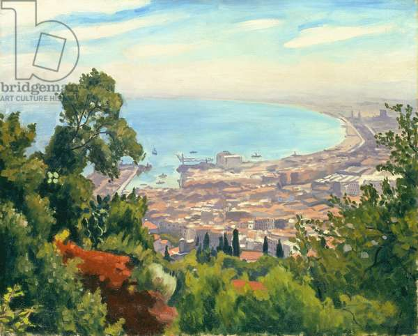 The Bay of Algiers, 1932 (oil on canvas)