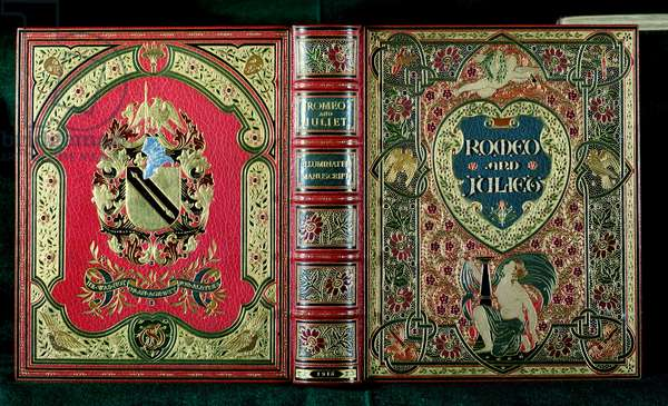 Romeo and Juliet: Tooled and embossed book cover