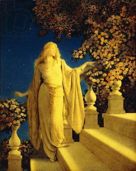 Cinderella, 1913 (oil on panel)