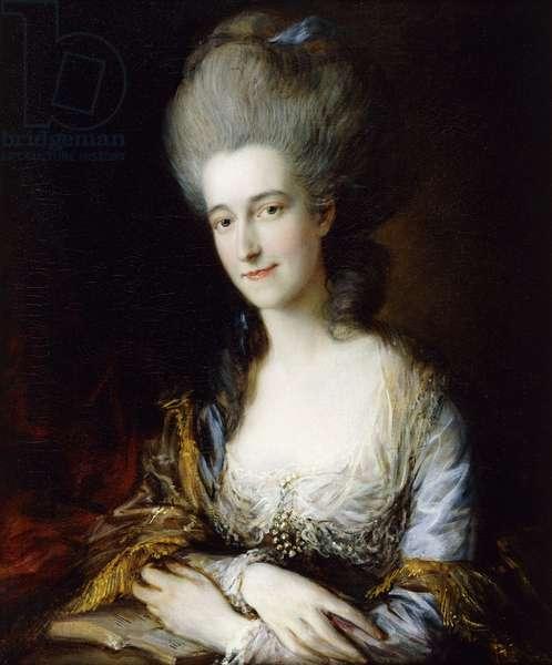 Portrait of Dorothea (oil on canvas)