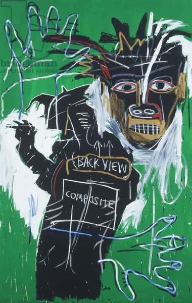 Self-portrait as a Heel Part Two, 1982 (acrylic and oil paintstick on canvas)