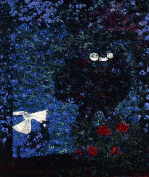 The Evil Prince Sleeps; Les Princes Dorment Mal, 1957 (oil on canvas)