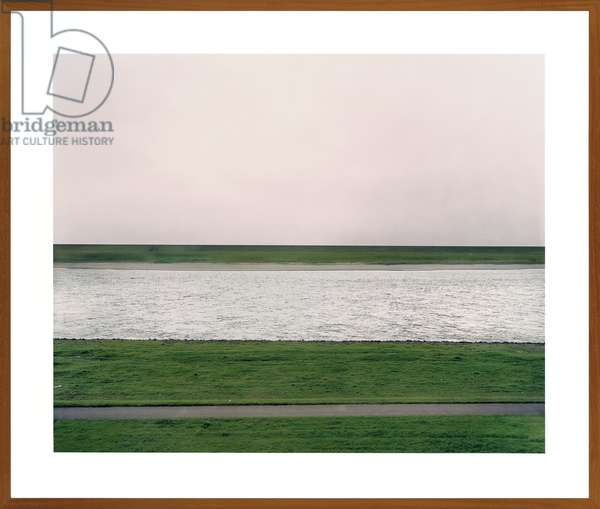 Rhein, 1996 (chromogenic colour-print laminated to Plexiglas, framed)