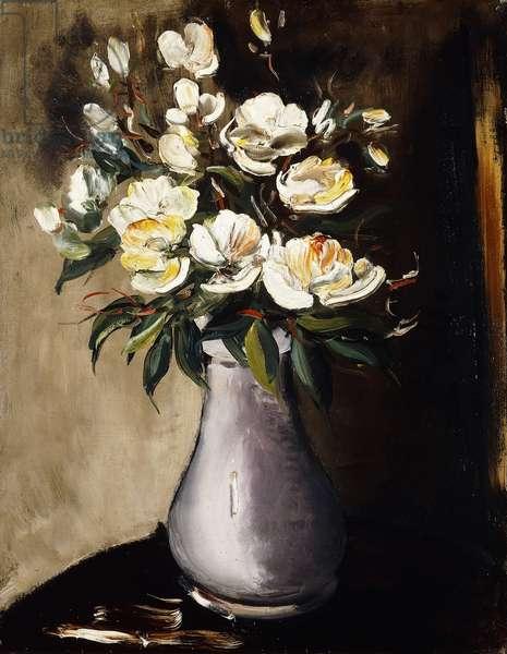 Christmas Roses; Roses de Noel, c.1922 (oil on canvas)