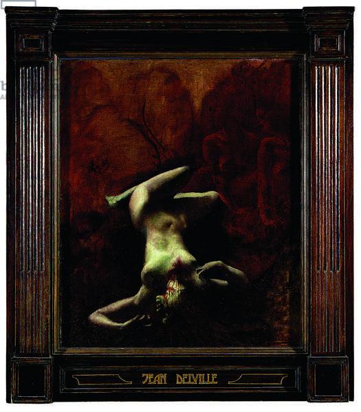 Le Crime (oil on canvas)