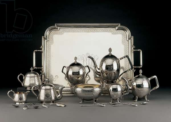 Tea and Coffee service, 1881 (silver)