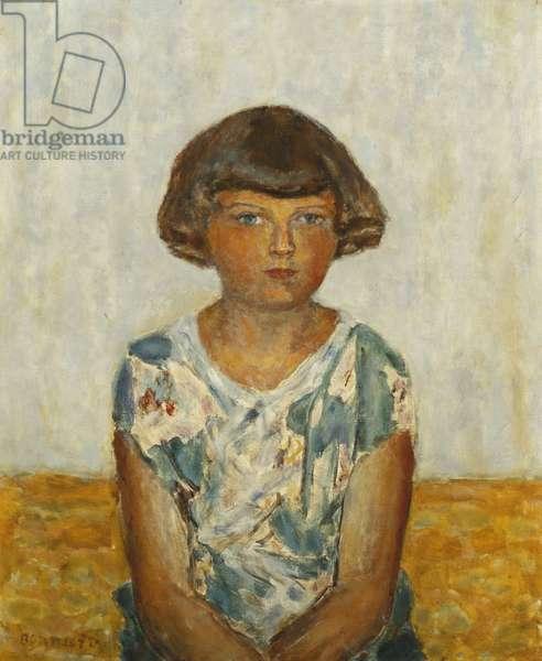 Portrait of a Young Girl; Portrait d'une Jeune Fille, c.1924 (oil on canvas)