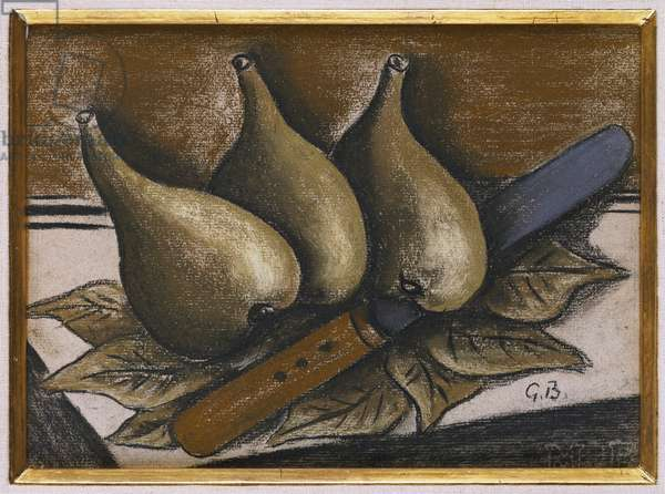 Still Life with Figs, c.1924 (pastel on paper)