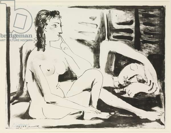 The Sleeper, 1947 (litho)