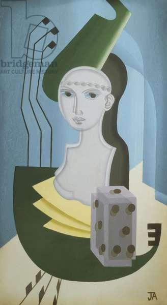 Music, c.1925 (tempera on panel)