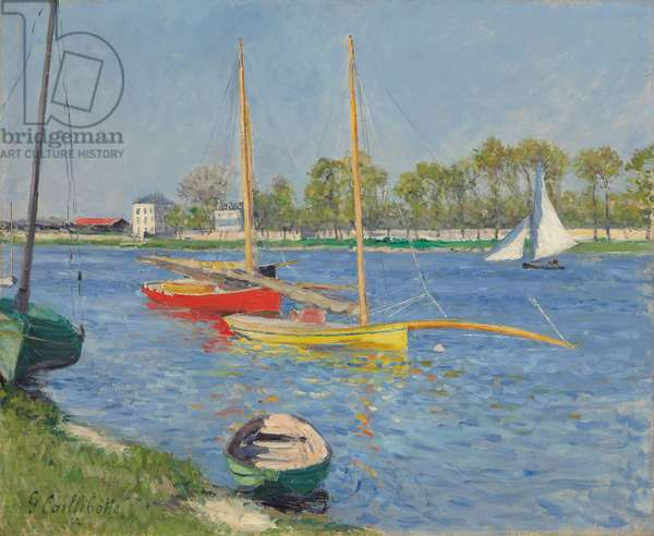 The Seine at Argenteuil, 1882 (oil on canvas)