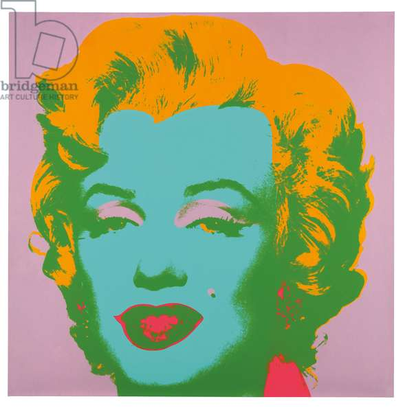 Marilyn Monroe (Marilyn), 1967 (screenprint) (see also 1219873)