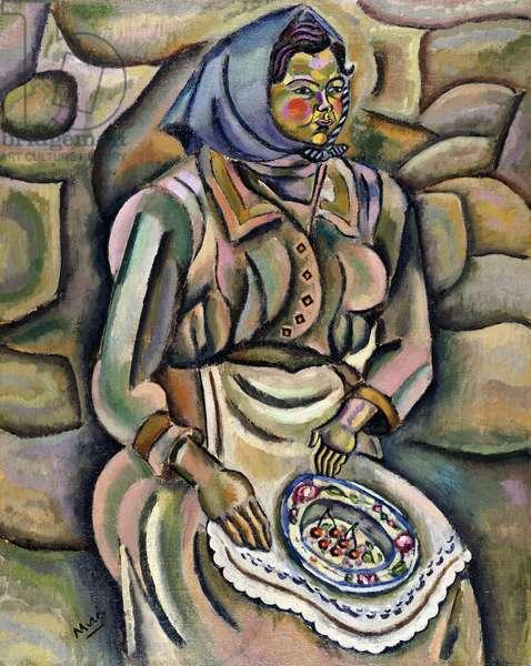 Maria Ciurana, 1917 (oil on canvas)
