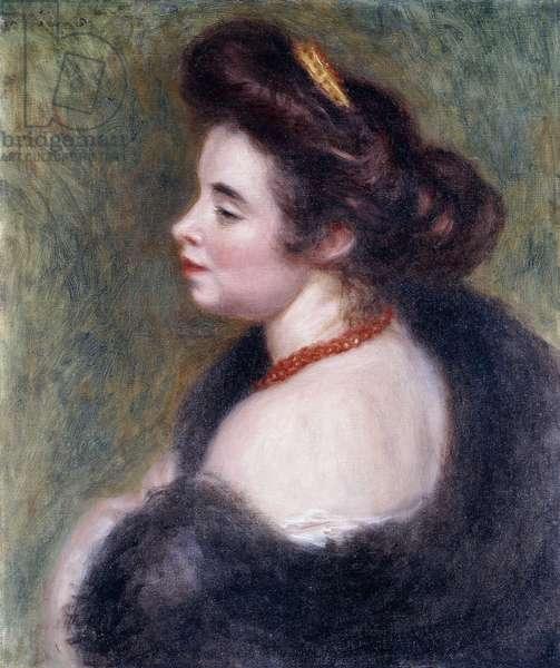 Madame Maurice Denis, 1904 (oil on canvas)