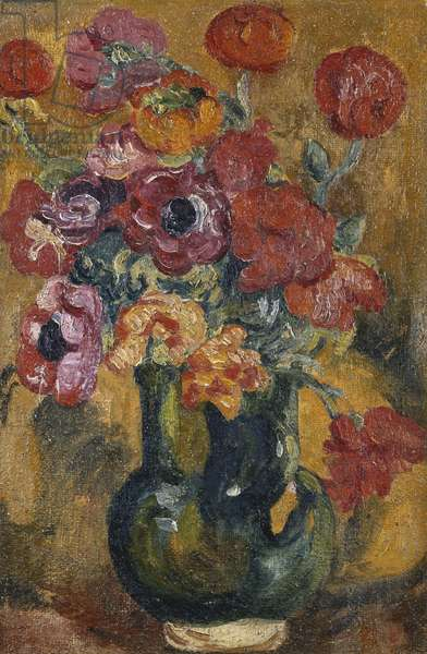 Bouquet d'Anemones, c. 1906-1908 (oil on canvas)