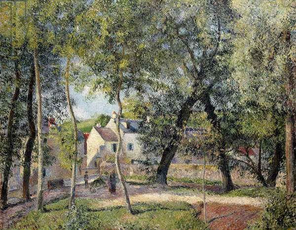 Landscape at Osny near the Drinking Trough, 1883 (oil on canvas)