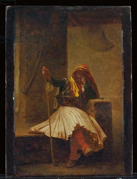 Arnaute buvant, 1896 (oil on panel)
