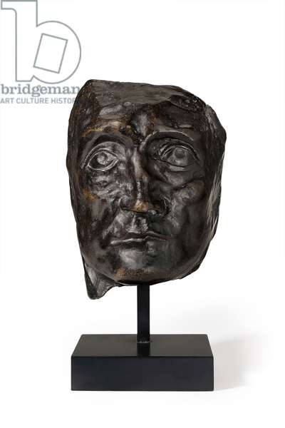 Head of a picador with broken nose, 1960 (bronze)