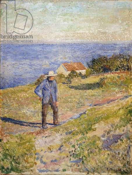 Summer in Asgardstrand, c.1890-1892 (oil on canvas)