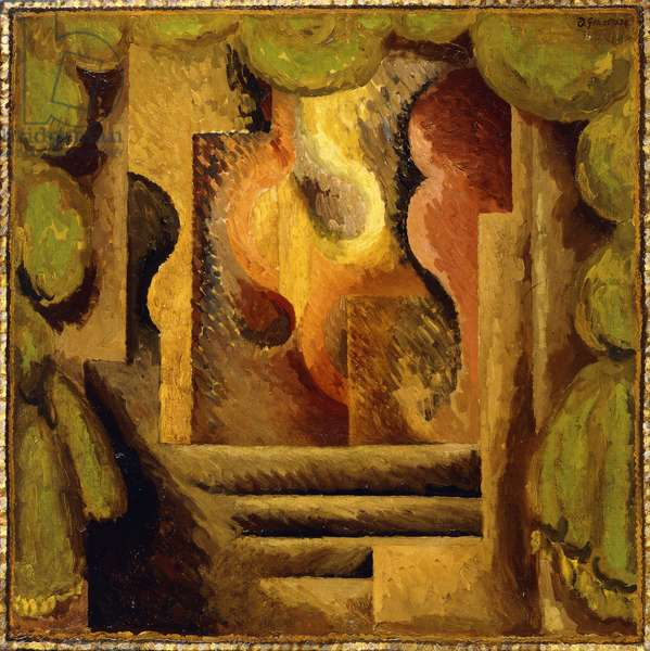 Abstract, 1924 (oil on canvas)