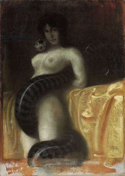 Sensuality, c.1891 (oil on canvas)