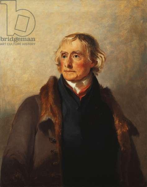 Thomas Jefferson, 1856 (oil on canvas)
