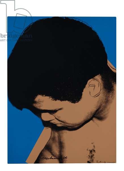 Muhammad Ali, 1978 (screenprint)