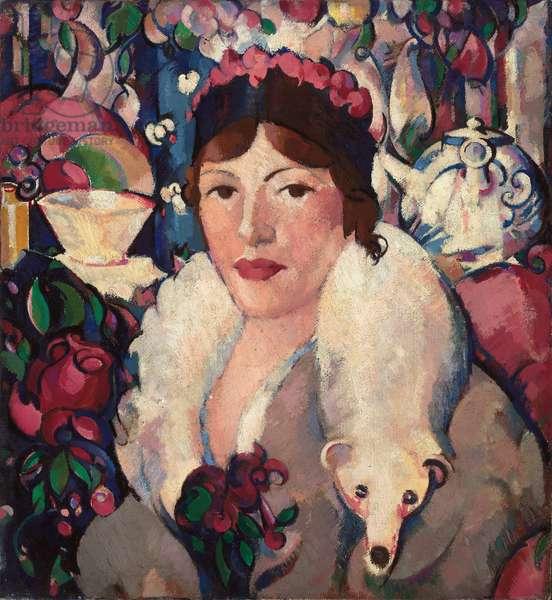 Complexity: Mrs Julian Lousada, 1915 (oil on canvas)