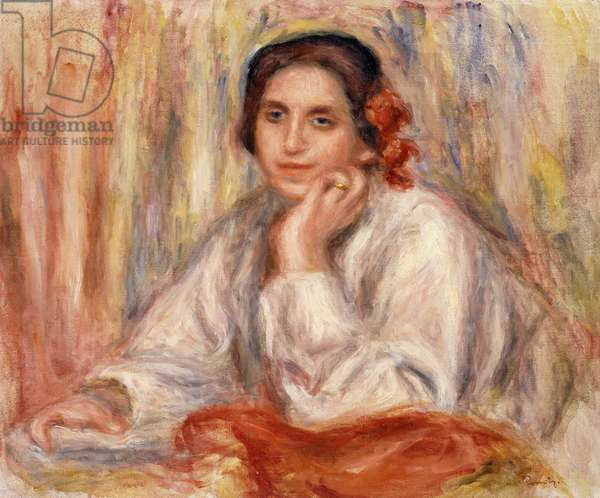 Portrait de Vera Sergine Renoir, 1914 (oil on canvas)