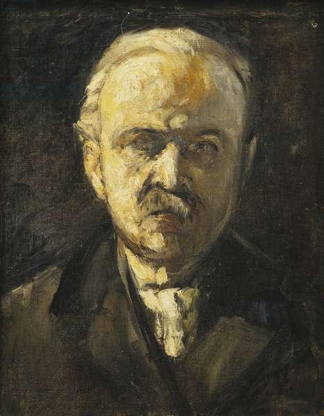 Self-Portrait; Selbstbildnis, c. 1924 (oil on canvas)