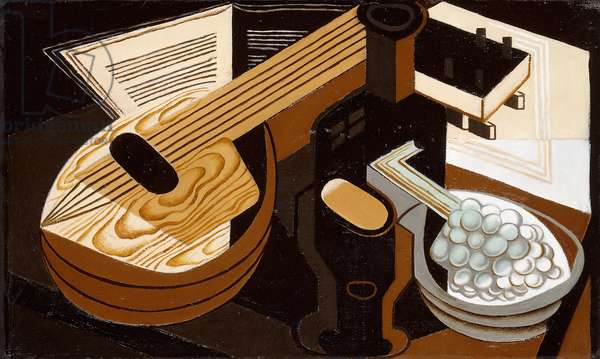The Mandolin; La Mandoline, 1921 (oil on canvas)