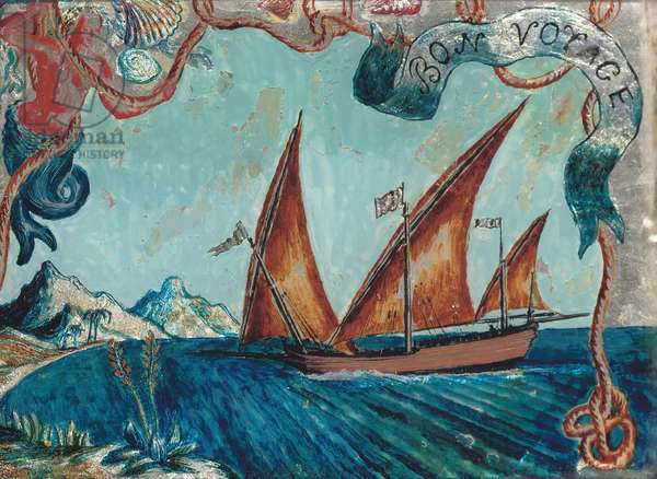 Bon Voyage, 1929 (oil on canvas)
