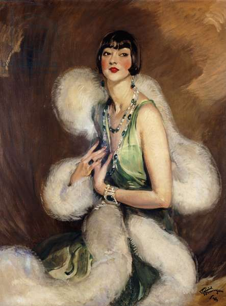 Portrait of Jenny Dolly, 1928 (oil on canvas)