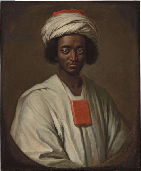 Portrait of Ayuba Suleiman Diallo, 1733 (oil on canvas)