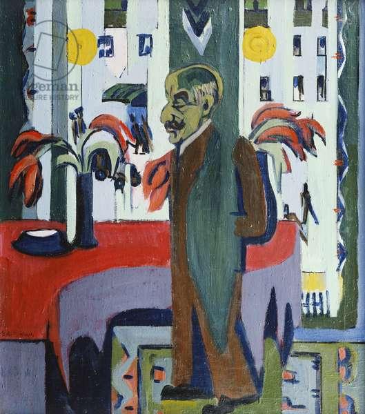Max Liebermann in his Studio; Max Liebermann in Seinem Atelier, 1926 (oil on canvas)