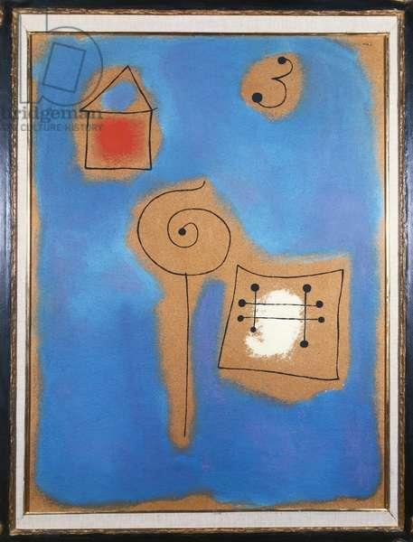 Poetic Landscape, 1937 (oil on celotex)