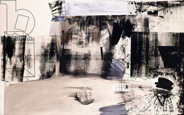 Glider, 1962 (oil and silkscreen inks on canvas)